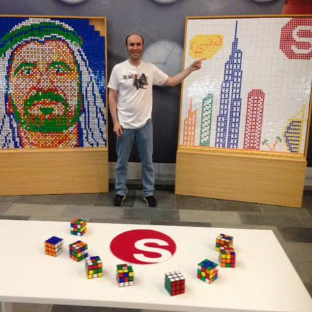 Rubik Art - Ernesto Fernández