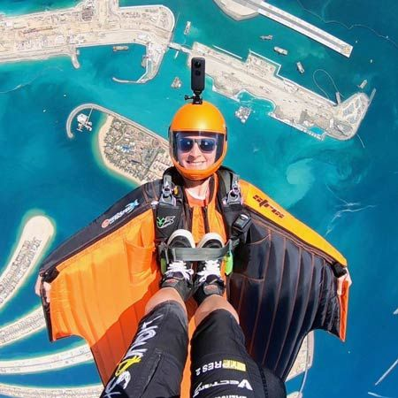Wingsuit Acrobats