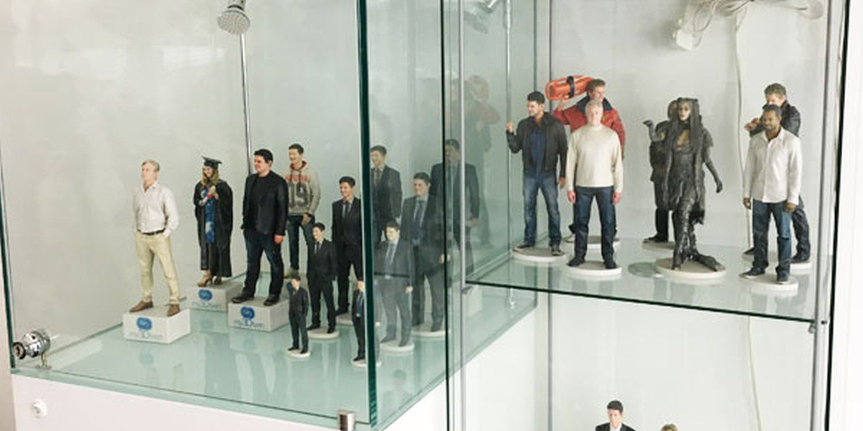 Scarlett Visit 3D Print Yourself In London