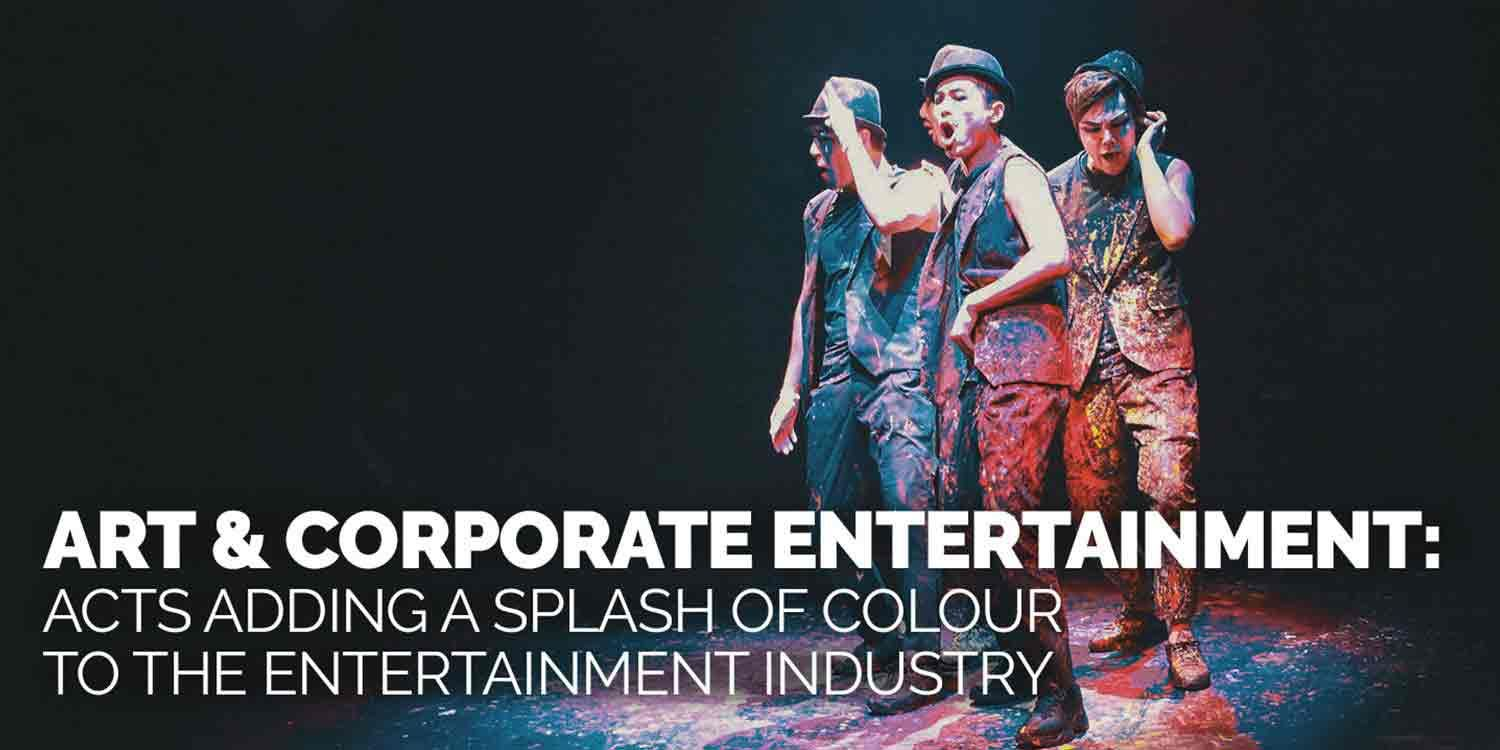 Art and Corporate Entertainment: Adding a Splash of Colour to the Entertainment Industry