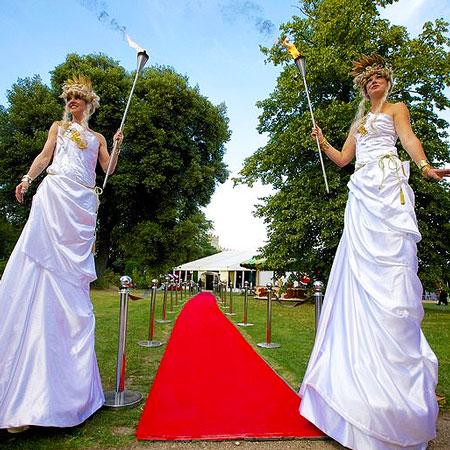 JenTheRoo - Grecian Glamour Stilts