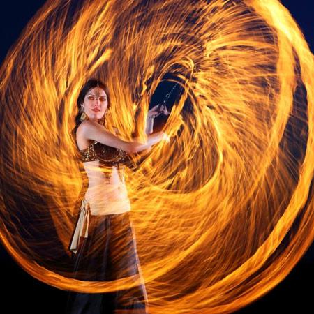 Duo Aratron Aspis - Fire Show