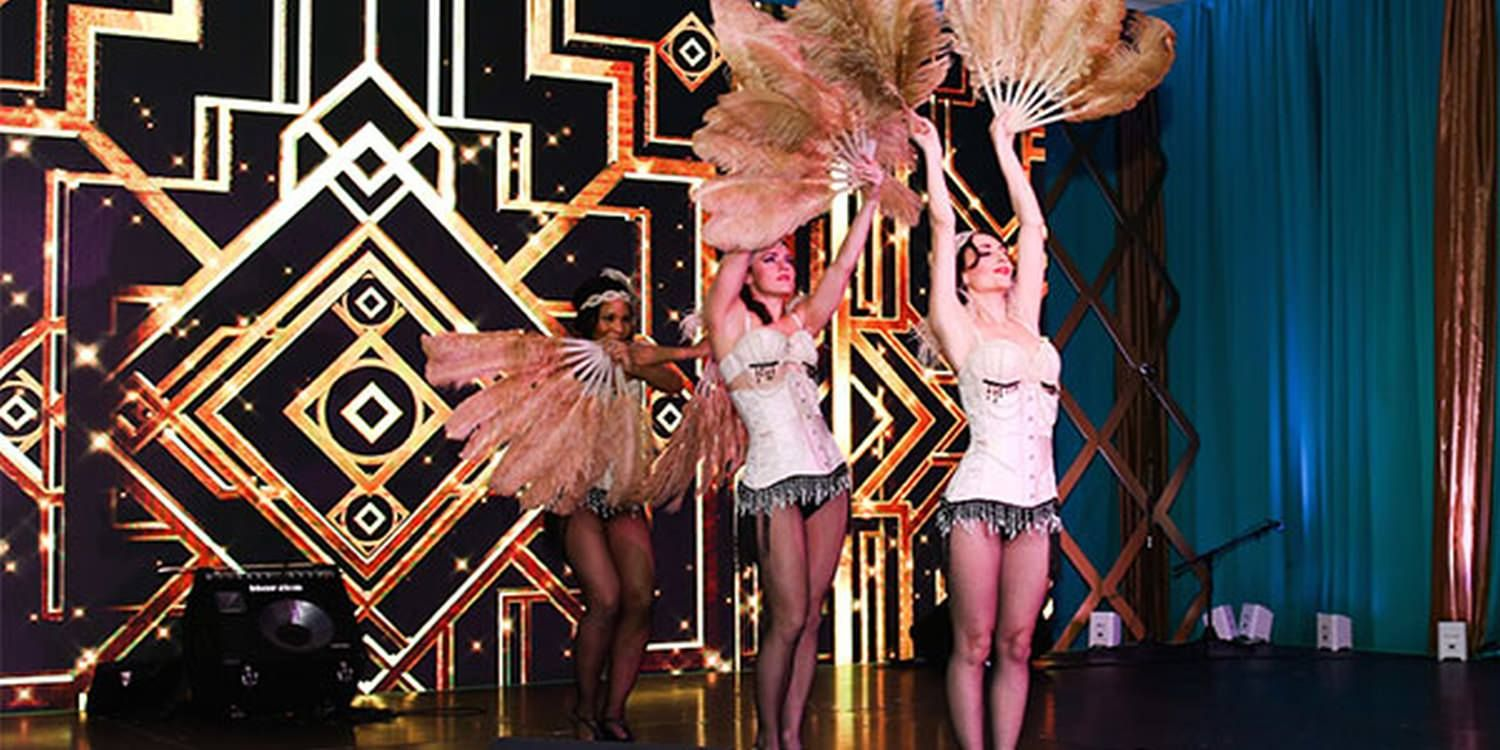 Folies Bergère-Inspired Performers Whisk Guests Back To The 1920s Parisian Nightspot