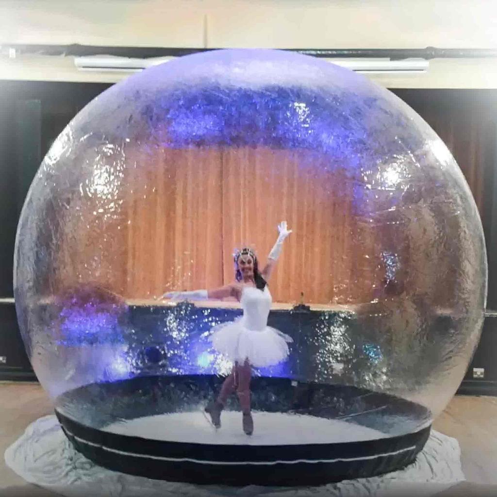 Snow Globe - Ice Glitz Productions