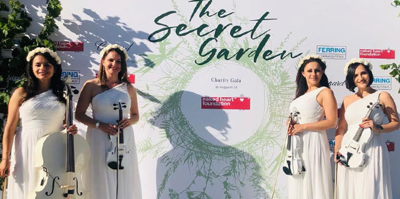 String Quartet Impresses Charity Gala Guests