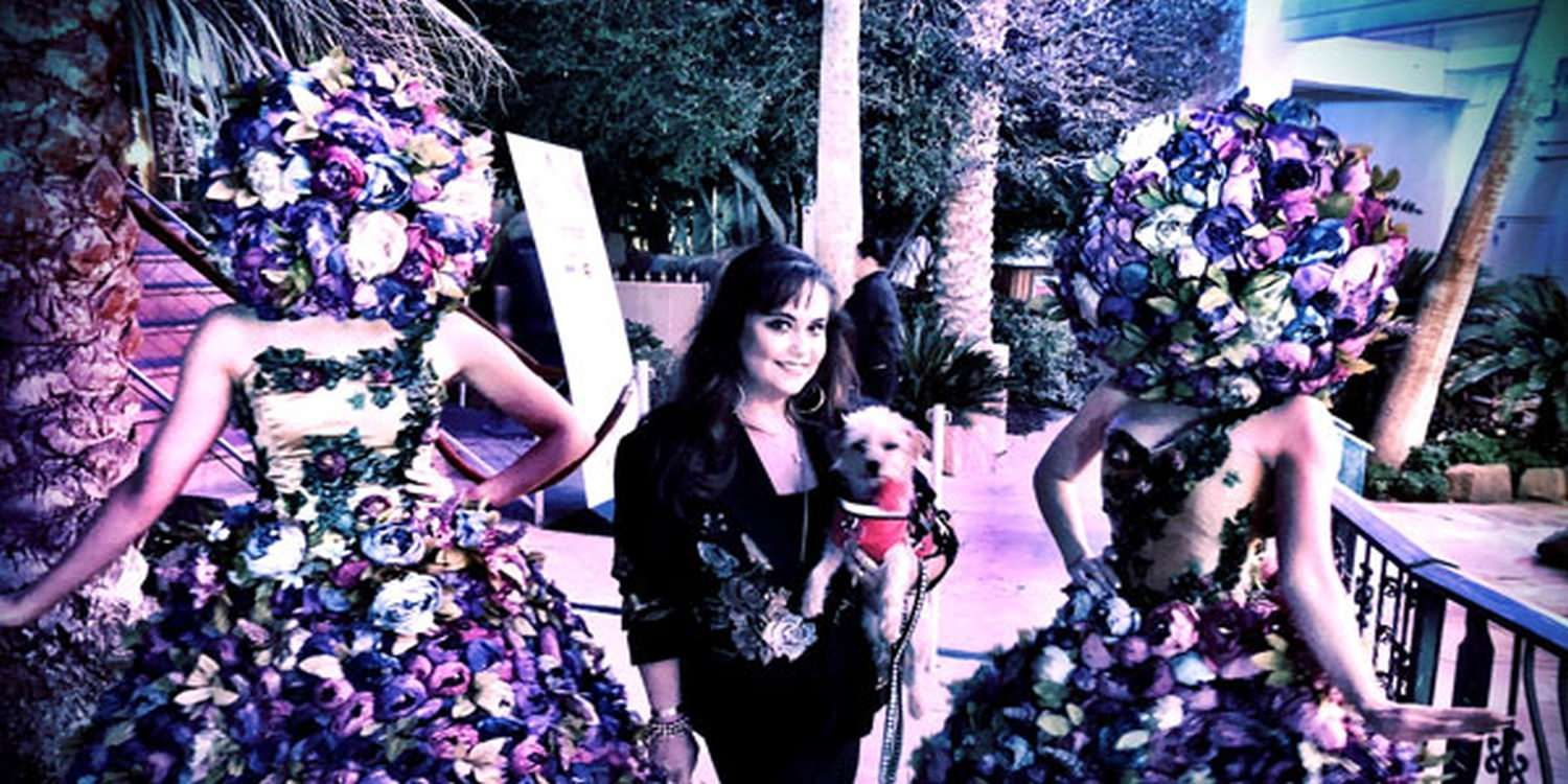 A Floral Welcome In Vegas
