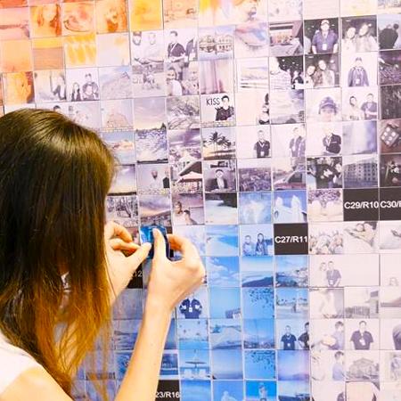 Olga Pankova - Photo Mosaic Wall