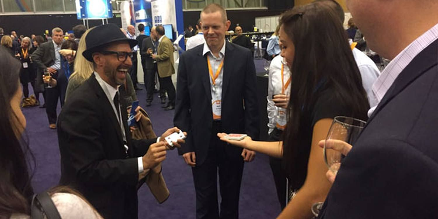 Magician Is Huge Success At Workday Rising Europe In Barcelona