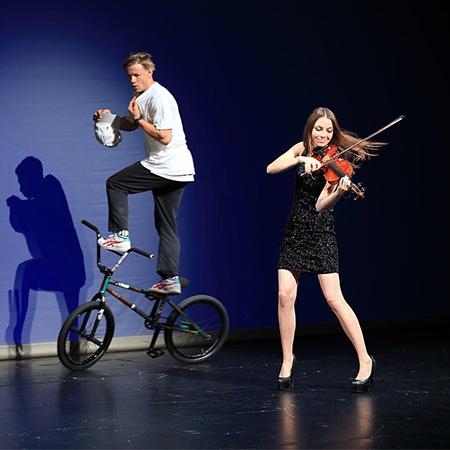 Mabea Music - Violin & BMX Act