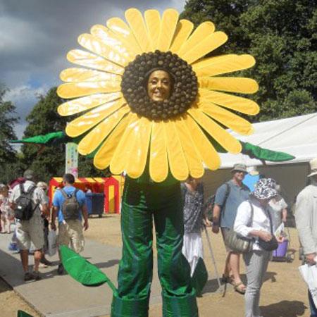 Mind Blowers - Sunflower Stilt Walker