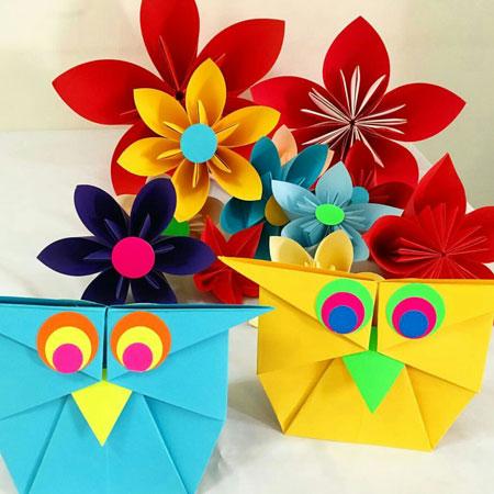 Weare Fire Storm: Origami Workshop