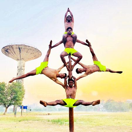 Mallakhamb Artist India Team