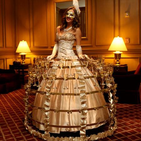 Champagne Dress Diva