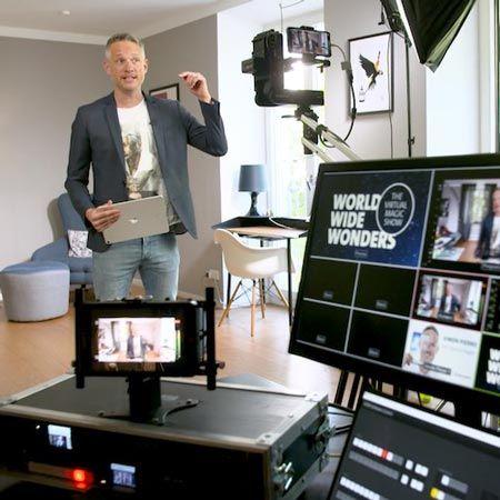 Simon Pierro - Virtual iPad Magic Show