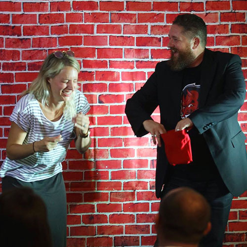 Andy Reay Comedy Magician