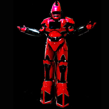 Weare Fire Storm - Red and Black 8ft Robot
