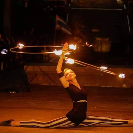 Kate Ryan Circus - Fire Shows