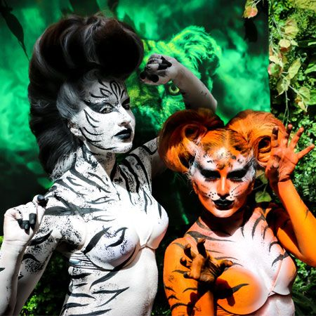 Live Body Painting Artist