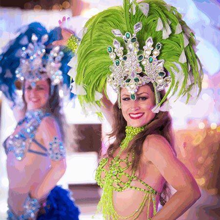 Rio Carnival Show Girls
