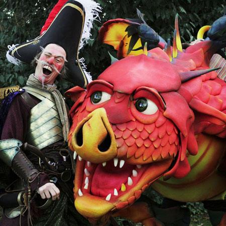 Creature Encounter - Epico the Dragon
