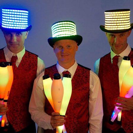 Jason Maverick - Glow Juggling Show