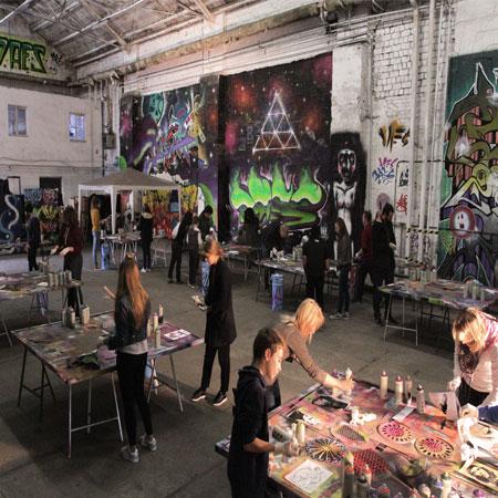 Alternative Berlin Tours- Street Art Workshop/ Tour