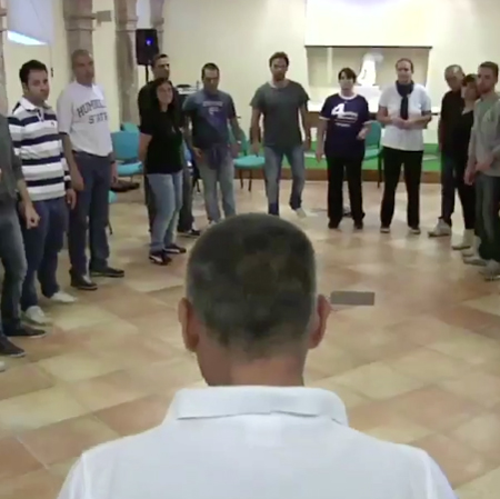 Teamworking - body percussion