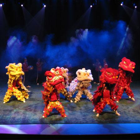 Qibu Kung Fu Group - Lion Dance China