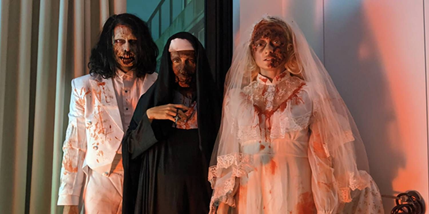 Scary Characters Make A Halloween Party In Brooklyn A Spooktacular Event