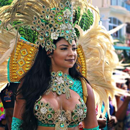 Momo King - Samba Dancers