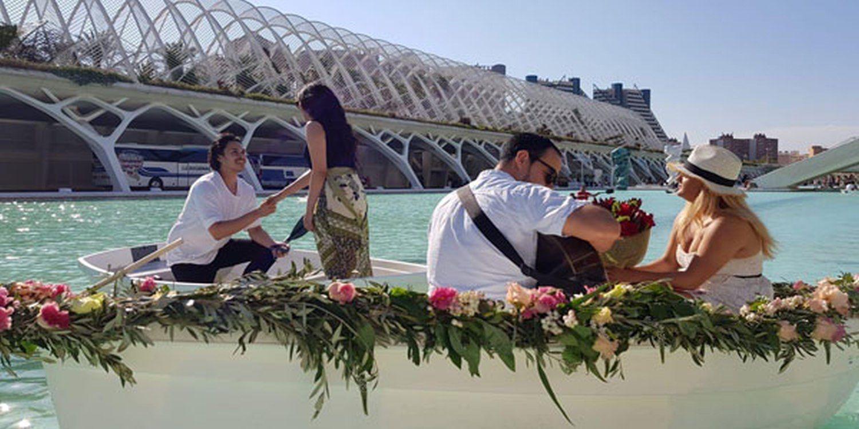 Stunning Wedding Proposal In Spain