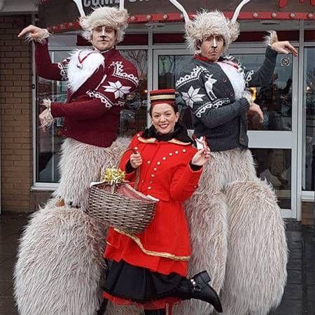 Joy Magnet - Bouncing Reindeer