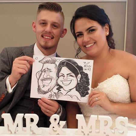 Vicky Hunt – Caricature Artist