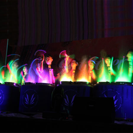 Urban Drum Crew - LED Water Drums