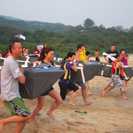 Team Building Asia - Flat Out Afloat