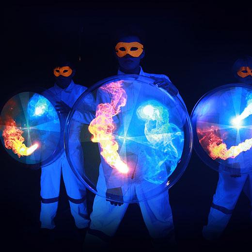 Hyperactive Entertainment Performance - 3D Hologram