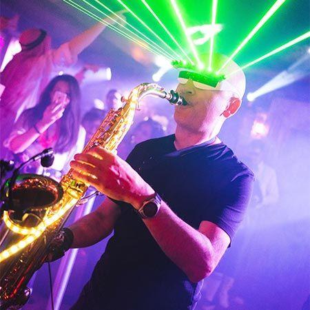 Raul Romo - Laser Sax Player