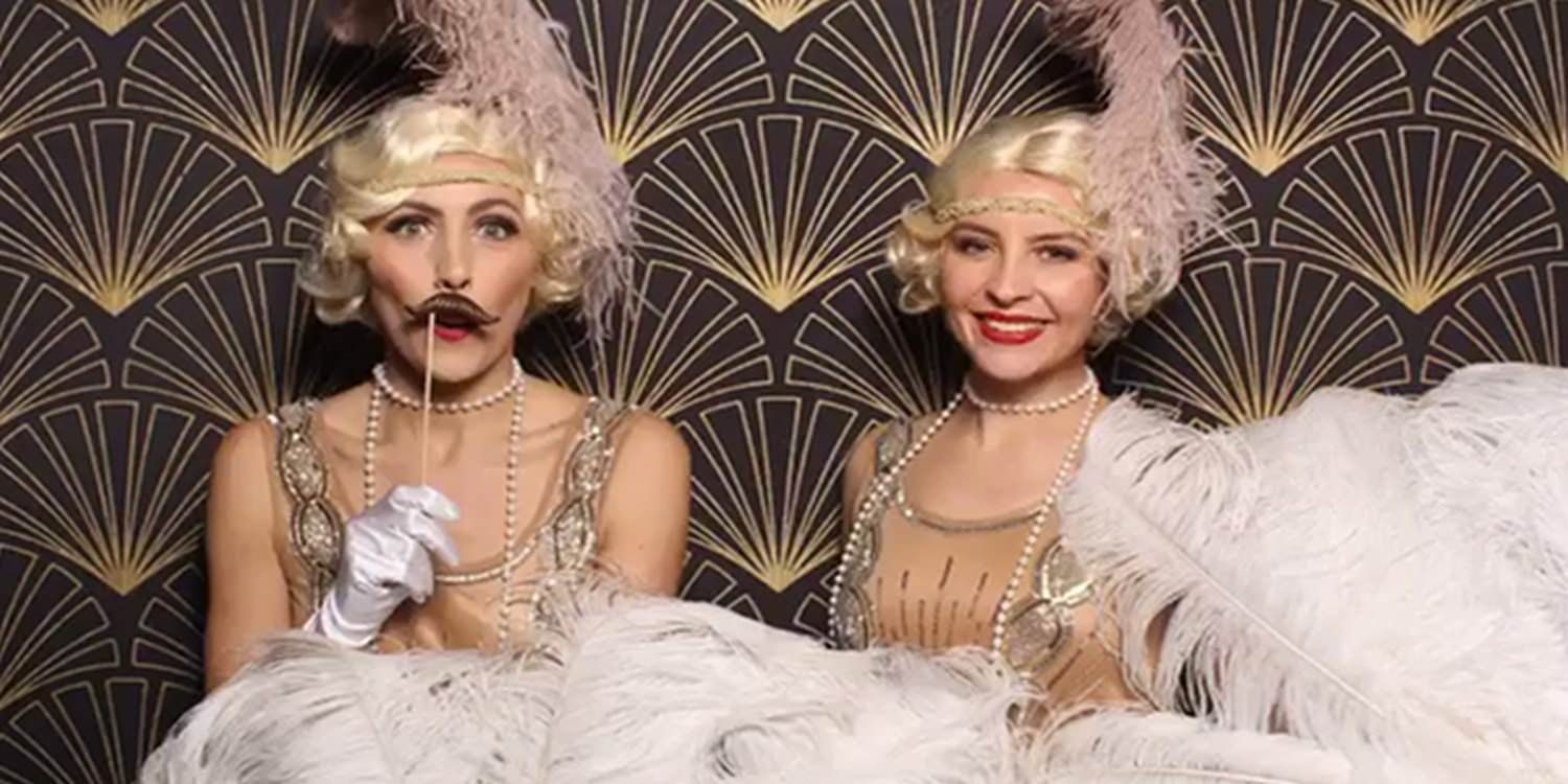 The Gatsby Showgirls Add Sparkle To A 1920s Christmas Party