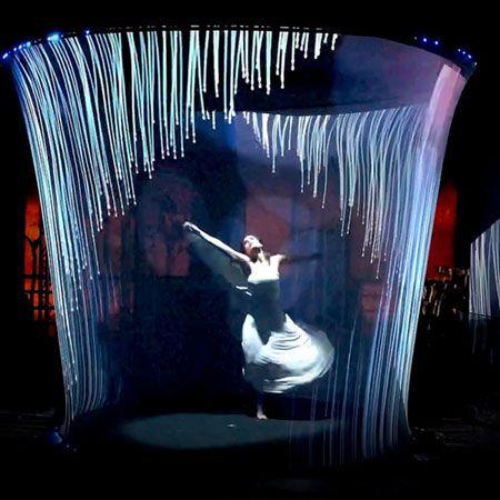 Paco Gramaje - Rider Vortex Visual Dance Show
