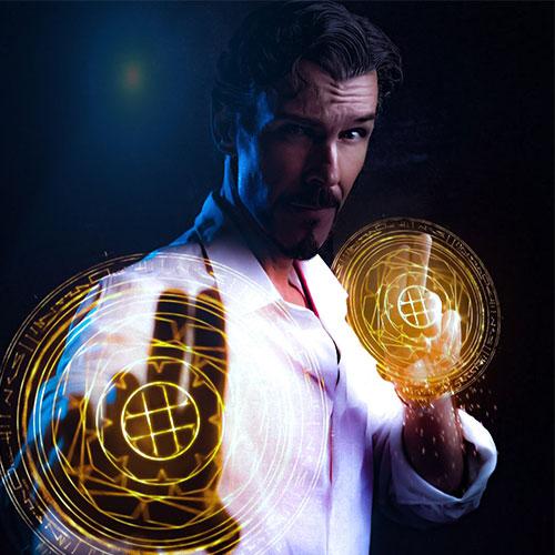 Michael Paterakis - Dr Strange Lookalike