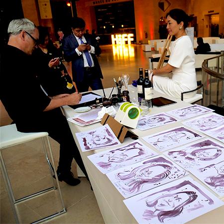 Anthony Garner - Coffee and wine caricaturist