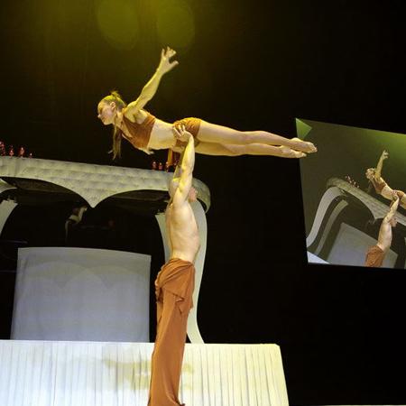 Tatiana Thomas - Duo de portés acrobatiques