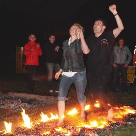 Feuerlaufseminar- Fire Walking