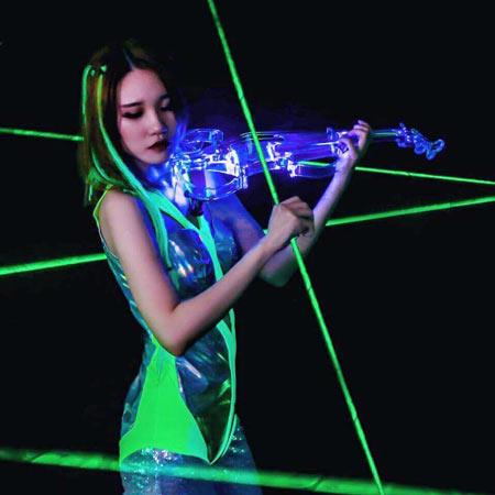GRACE TAN - International LED Violinist