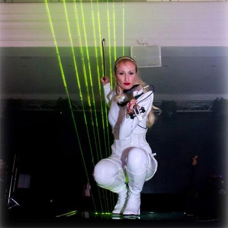 Angie Violin - Laser Violinist
