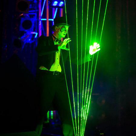 Genius Laser Technology - Laser cirque