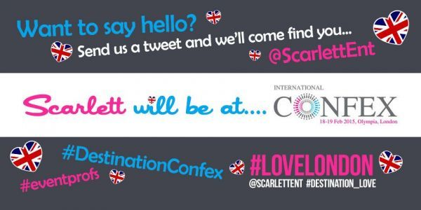 Scarlett Entertainment To Attend International Confex In London