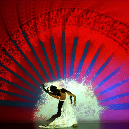 Paco Gramaje - Flamenco video mapping