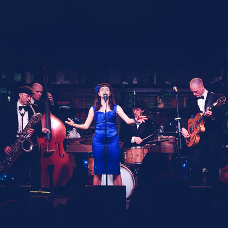 Roberta Vaudo & The Blue Whistles