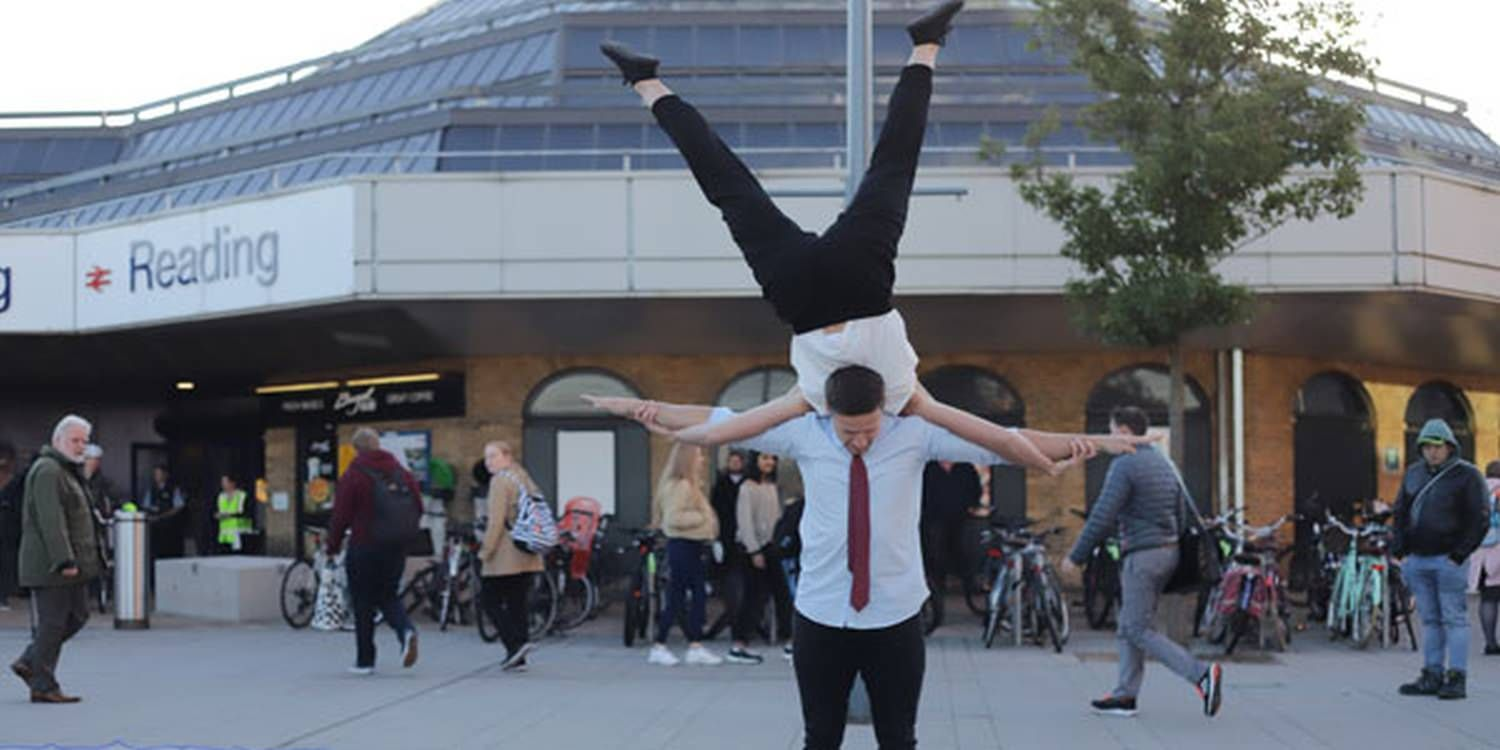 Acrobats Don Suits To Release Agile Business Report
